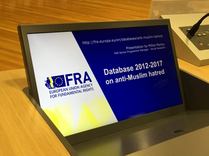 Neue EU-Datenbank zu antimuslimischem Rassismus