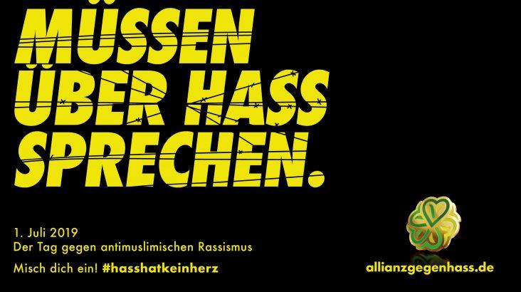 #HassHatKeinHerz – Mitmachen bei der Aktionswoche gegen antimuslimischen Rassismus!