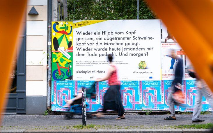 """""""Heute Wieder."""" – Aktionswoche gegen antimuslimischen Rassismus macht tagtägliche Übergriffe und Diskriminierungen zum Thema"""