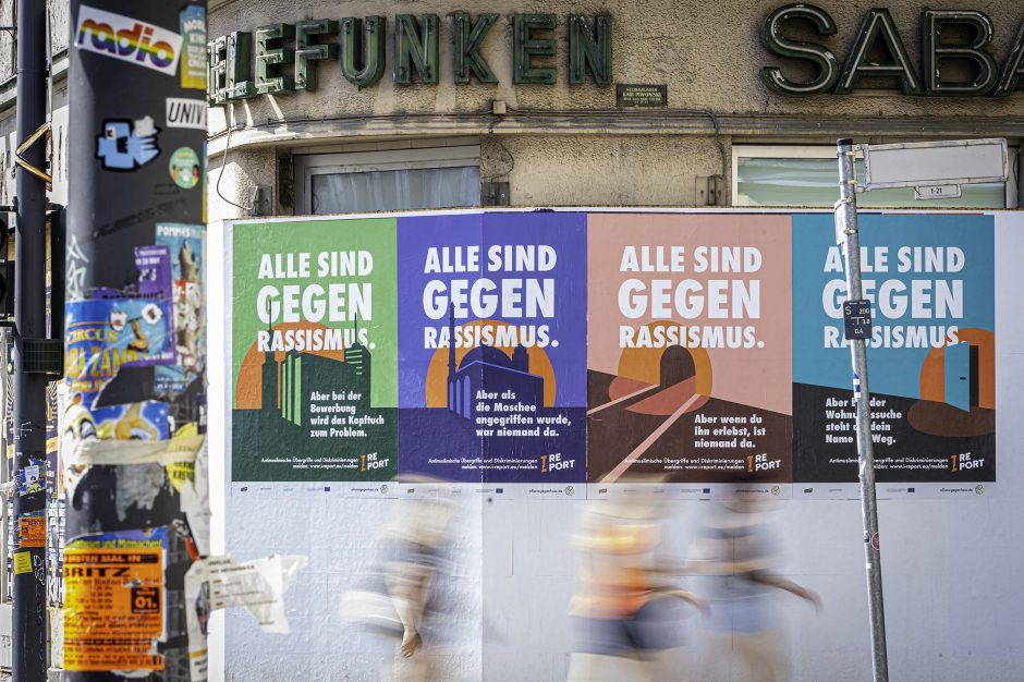 Aktionswoche gegen antimuslimischen Rassismus - Kampagnenplakate