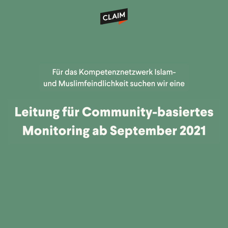 Stellenausschreibung: Leitung Community-basiertes Monitoring
