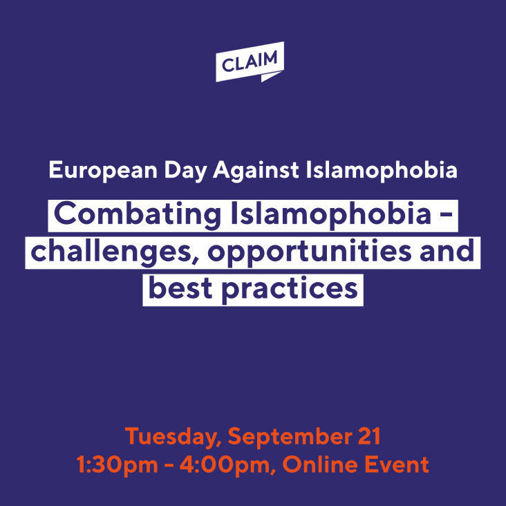 Combating Islamophobia – challenges, opportunities, and best practices